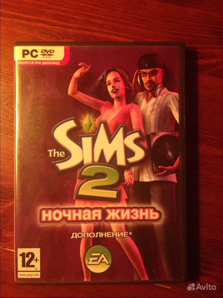 Объявление Продаю диск The Sims 2Ночная жизнь (2 фо