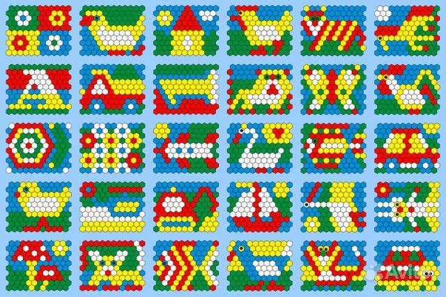 Мозаика для детей картинки