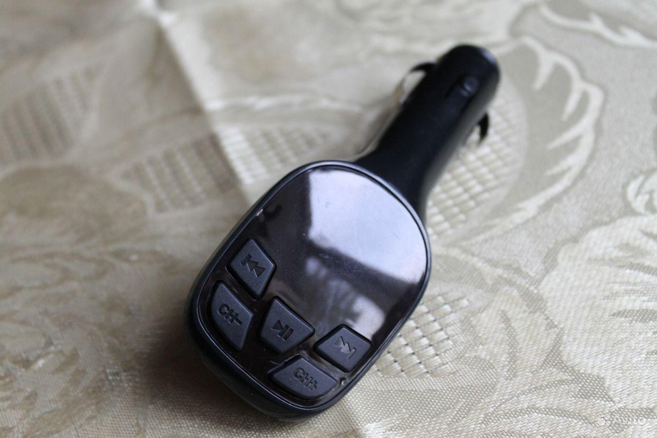 FM-модулятор USB microSD SD чёрный. Кемеровская область, Новокузнецк