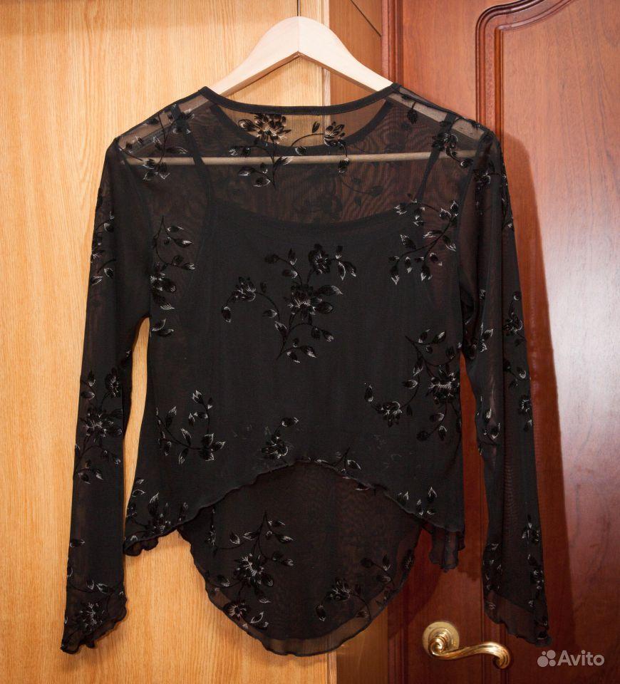 Очень красивая вечерняя блузка р-р 40-42