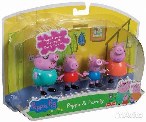 Домик Свинки Пеппы Весёлое видео про игрушечный