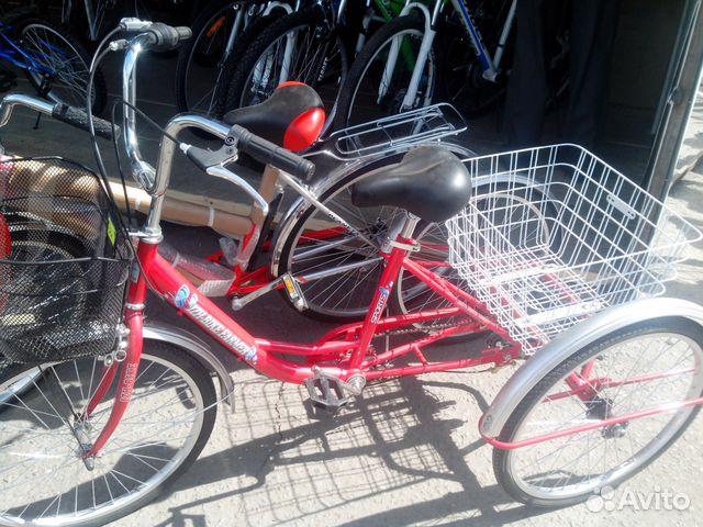 Взрослый 3-х колесный велосипед