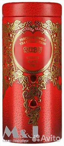 Чёрный индийский чай в подарочной упаковке снегурочка тм мастер тим