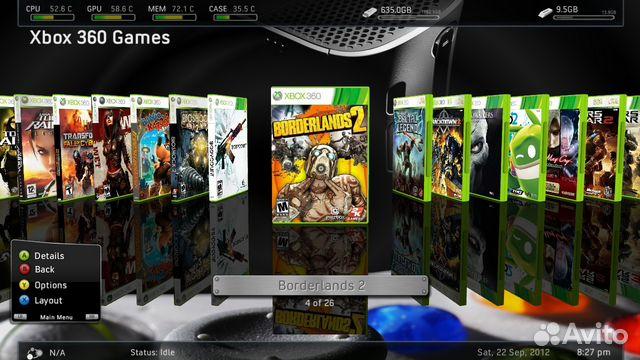 Игры на xbox 360 график выхода
