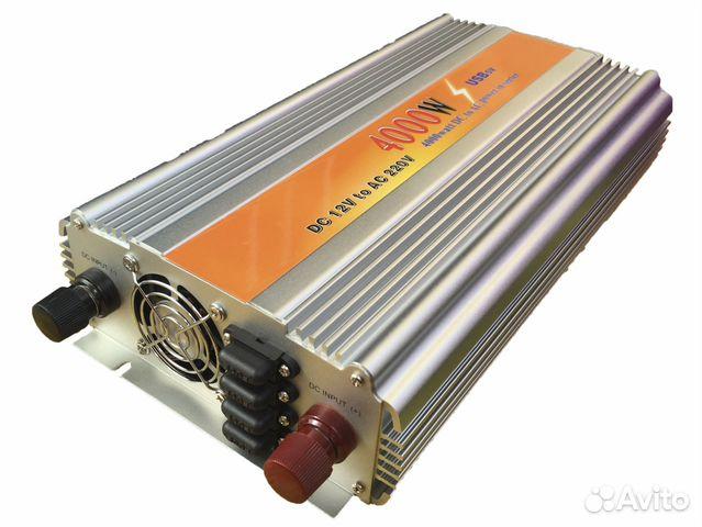 Инвертор 12 220 - 4000W Преобразователь напряжения купить в Москве на Avito - Объявления на сайте Avito