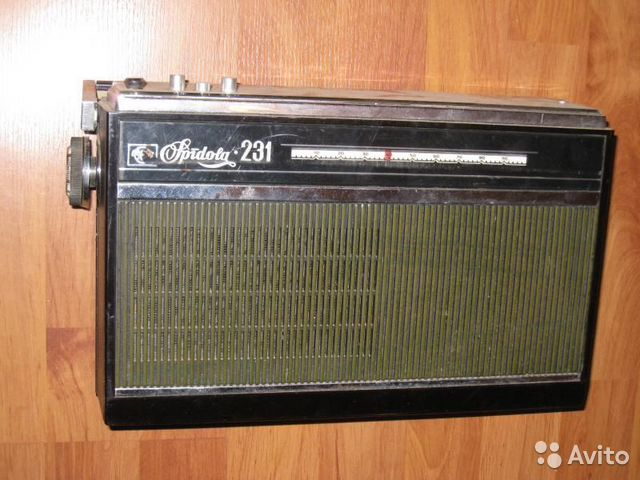 Радиоприемники VEF 201 Spidola 231/232 Россия 303.