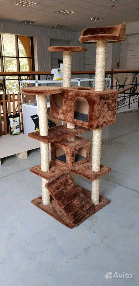 Когтеточка домик для кошек