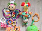 Игрушки малышам tiny love fisher price chicco