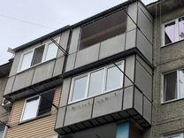 Остекление балконов в нальчике дешево застеклить балкон своими руками