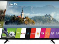 "4K Smart Wi-fi TV LG 43"" (109см)"