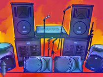 Звуковое оборудование для себя и бизнеса / караоке