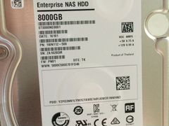 Жесткий диск Seagate Enterprise NAS HDD 8 Tb, 6 Gb