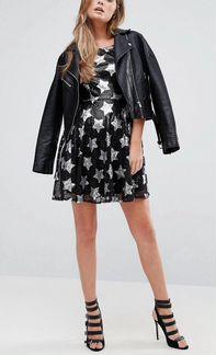 Платье новое New Look с пайетками размер 42-44(s)