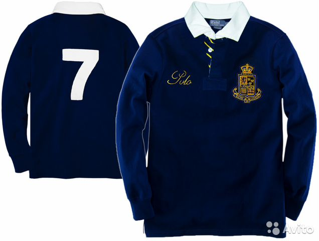 Толстовка Поло-N7 Rugby Sweatshirt by Ralph Lauren— фотография №1