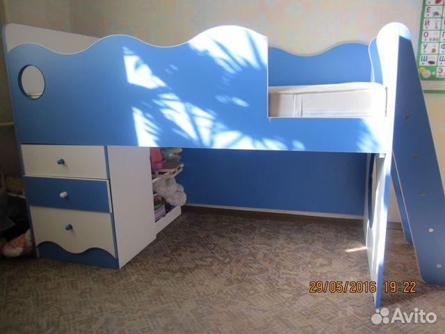 Кровать чердак   б/у авито