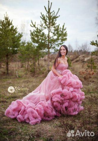 Платье облако фотосессии прокат