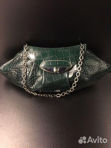 aeeabec28b44 Клатч кожаный под крокодила Furla | Festima.Ru - Мониторинг объявлений