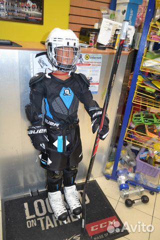 Детская хоккейная форма. Хоккейный интернет магазин