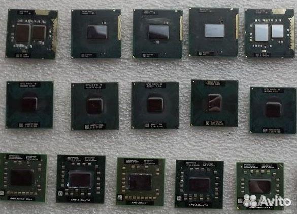Б/у процессоры от ноутбуков 89039011264 купить 1