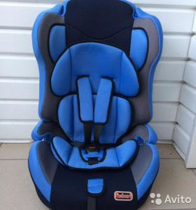 89527559801 Автомобильное кресло новое 9-36 кг