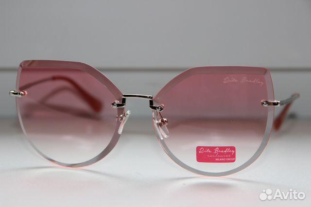 c4d21e0f5df9 Солнцезащитные имиджевые очки Rita Bradley розовые   Festima.Ru ...