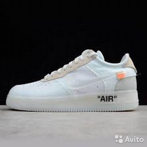 5139d64dd Кроссовки Nike Air Force x Off-White
