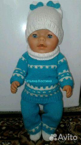 вязаная одежда для кукол купить в рязанской области на Avito