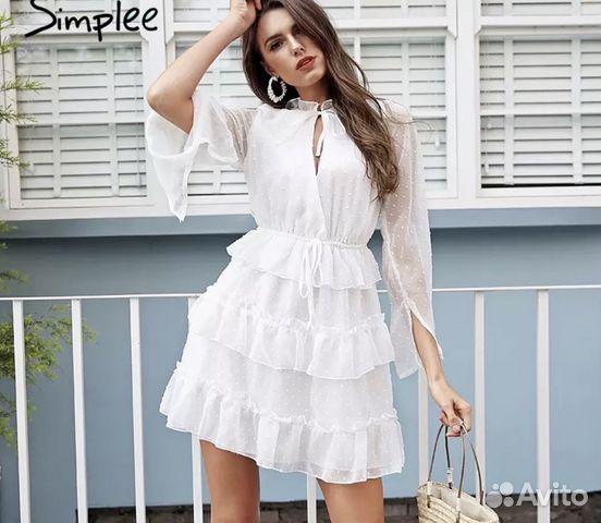 aaa5e2c62c8 Белое вечернее платье сарафан