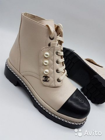 Ботинки Chanel на шнурках   Festima.Ru - Мониторинг объявлений 06170529820