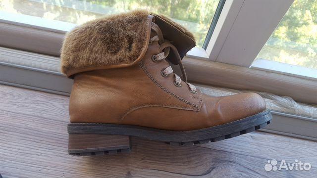 dadf95db Зимние женские сапоги\ботинки rieker/ 38-39 рр | Festima.Ru ...