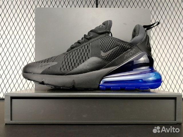 Кроссовки Nike Air Max 270 Black Blue (41-45) купить в Москве на ... 502836202a7