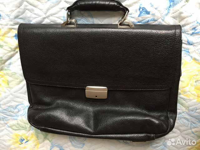 d48c1b00046d Портфель мужской кожаный eminsa купить в Тамбовской области на Avito ...
