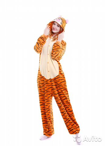 Кигуруми пижама тигруля— фотография №1. Адрес  Санкт-Петербург ... bc42f06b0e249