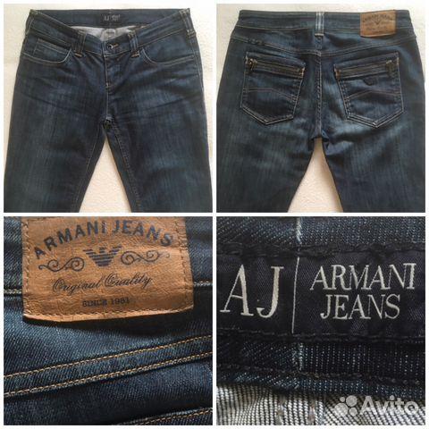 Оригинальные стильные джинсы Armani Jeans   Festima.Ru - Мониторинг ... ef225e2adad