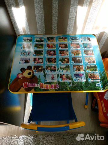 детский стол и стулалфавит маша и медведь Festimaru мониторинг