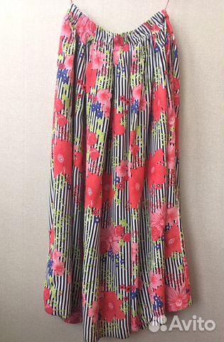 adbf0750cfd В идеале яркая легкая стильная юбка 52 - 54 размер купить в Москве ...