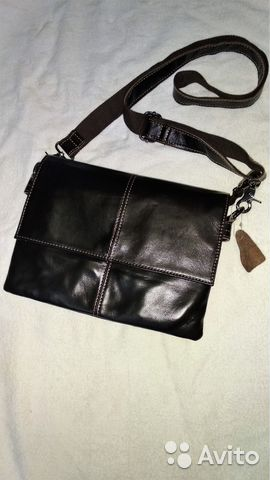 0f1389d60a89 Продам новую мужскую кожаную сумку купить в Омской области на Avito ...