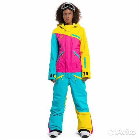 2c78937bd32a Комбинезон женский для сноуборда горнолыжный купить в Краснодарском ...