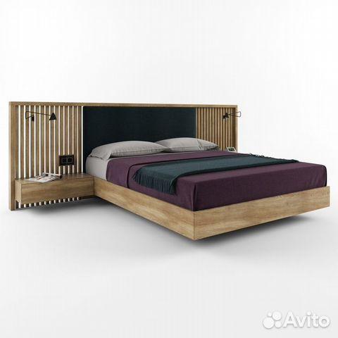 e79d95c7c1a7d Кровать из массива дуба купить в Санкт-Петербурге на Avito ...