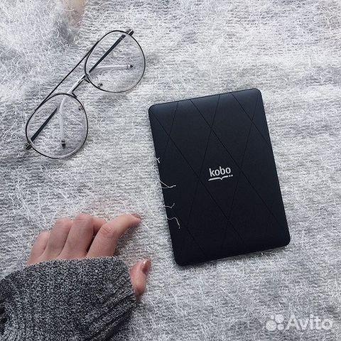 Kobo Glo N613, 6 дюймов, с магнитным чехлом