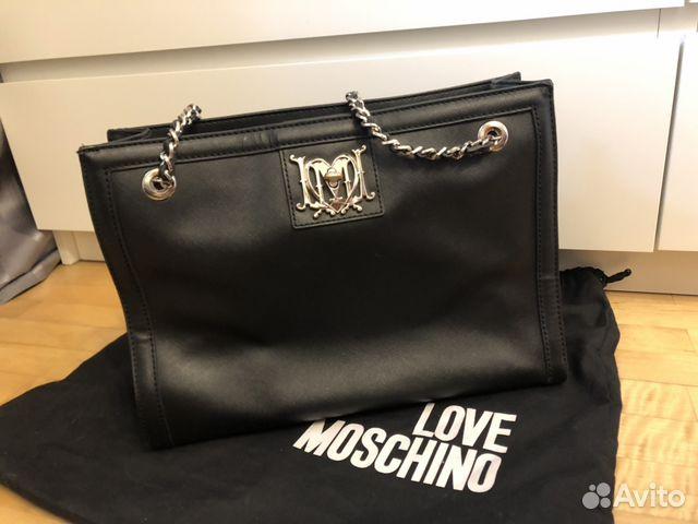 d04ff60076cd Сумка love moschino оригинал купить в Москве на Avito — Объявления ...