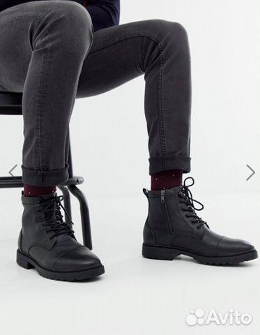 2862141a Продам чёрные мужские ботинки Pull&Bear купить в Москве на Avito ...