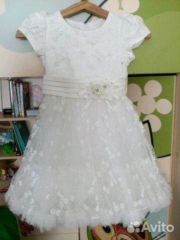0c75b33cf81 Нарядное платье для девочки купить в Новосибирской области на Avito ...