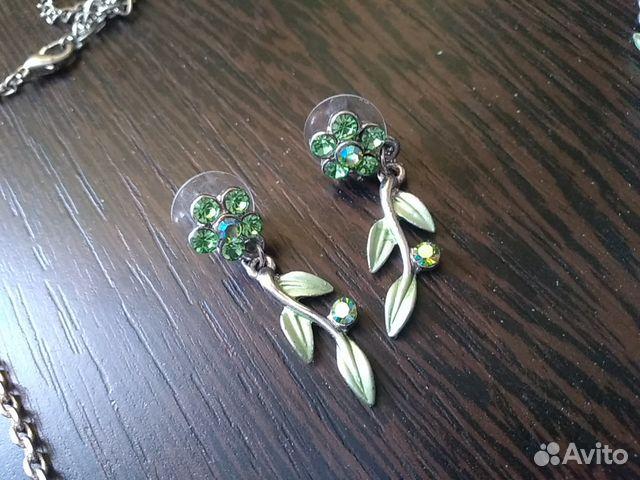 Ожерелье и серьги из нержавеющего сплава 89107827353 купить 5