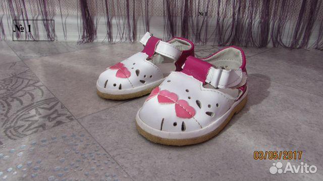 58dee322b Продам детскую обувь на девочку купить в Оренбургской области на ...