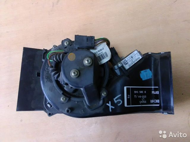 89026196331 Моторчик печки (отопителя ) Bmw X5 E53 4.4 2001