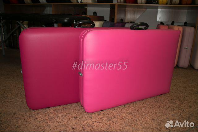 Кушетки складные розового цвета 89609940901 купить 4