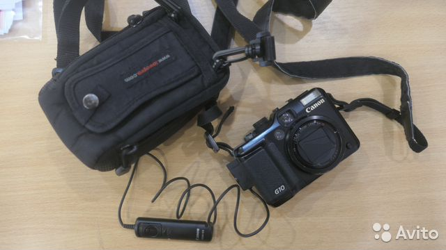 Canon G10 + сумка Lowepro + пульт Canon RS60-E3 купить 6