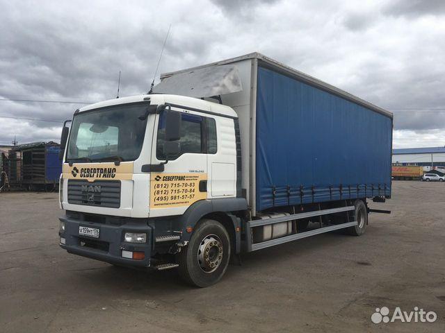 885750b4e93de MAN TGM 18.240 2008 тентованный грузовик 10-тонник купить в Санкт ...