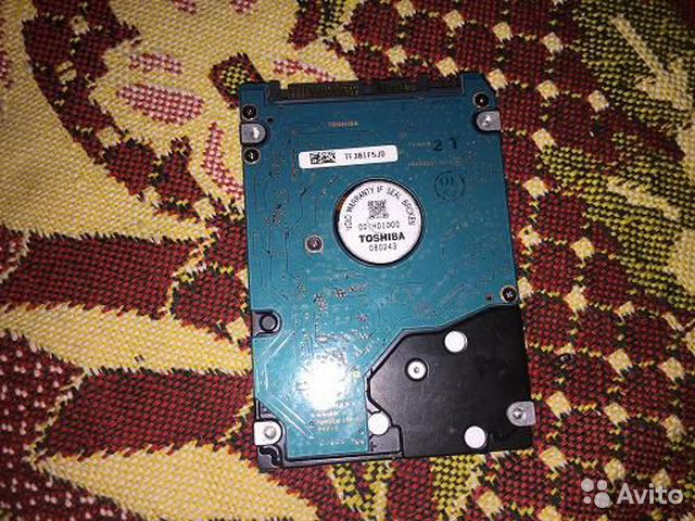 Hard drive for laptop (SATA) HDD 60 Gb